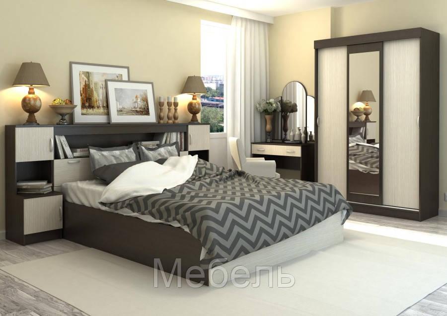 Спальня Бася №1 Сурская Мебель комплект