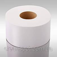 Туалетная бумага джамбо белая 2-шар 100 м Eco Point Clean, фото 2