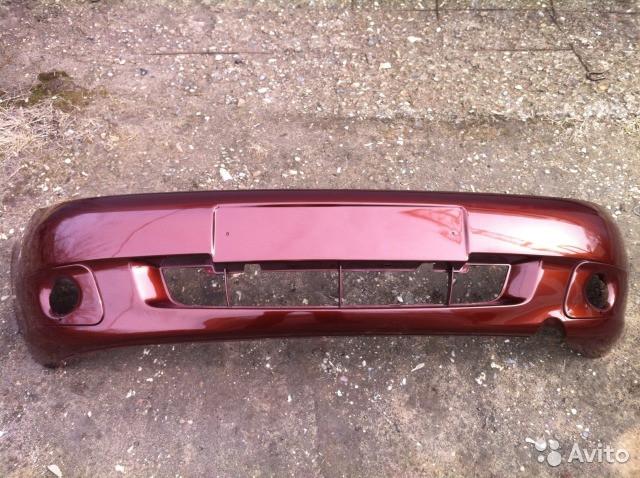 """Бампер ВАЗ 21117-21118-21119 пофарбовані в колір вашого авто """"Тольятті""""."""