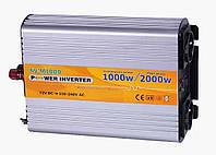 Инвертор NV-M 1000Вт/12В-220В. Модифицированная синусоида, фото 1