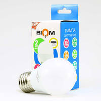 Светодиодная лампа Biom BT-564 A60 6W E27 4500К матовая