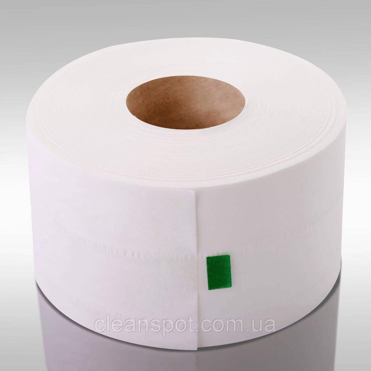 Туалетная бумага джамбо белая 2-шар 150 м Eco Point Clean гладкая