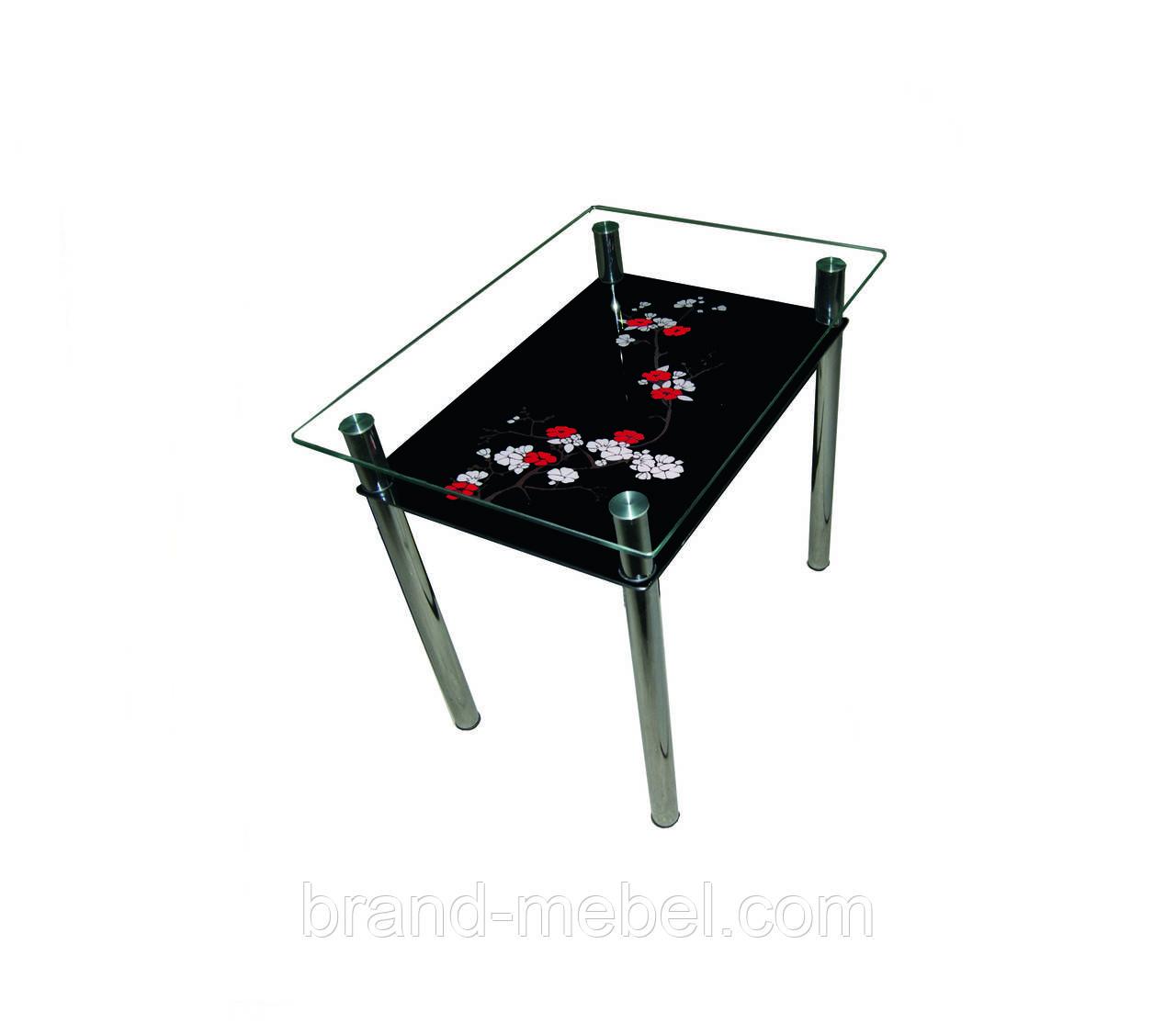 Стол стеклянный Сакура