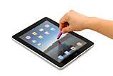 Стилус короткий з заглушкою 3.5 мм для телефонів і планшетів з ємнісними екранами РОЖЕВИЙ SKU0000523, фото 6