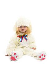Карнавальный костюм Белого Зайчика. Для детей от 0,5 до 2,5 лет, фото 3
