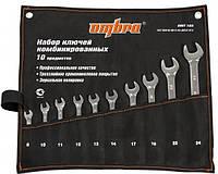 Набор комбинированных ключей 8-24 мм, 10 пр