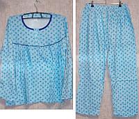 Пижама на байке 100% хлопок большой размер XL