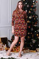 Модное короткое повседневное молодежное платье