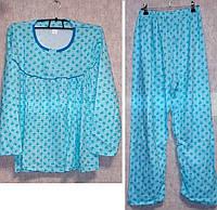 Пижама на байке 100% хлопок большой размер 2XL