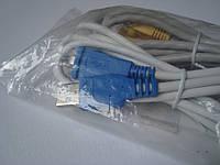 Комплект шнуров для сетевого принтера Ethernet patch-cord и Usb для принтера