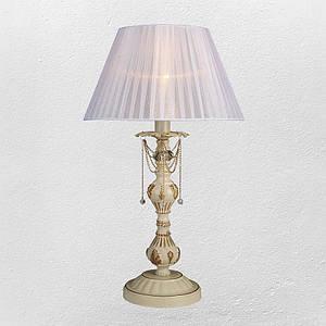 Настольная лампа в классическом стиле (модель 55-MK30012T-1 CRM+GLD)