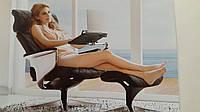 Кожаное кресло-реклайнер серии Nuvem