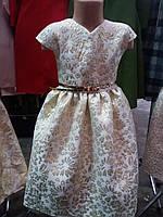 Красивое нарядное детское платье для девочки.