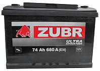 Аккумулятор Zubr Ultra 6СТ 74Ah 680А