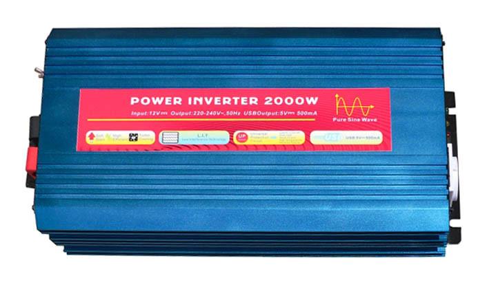 Инвертор NV-P 2000Вт/12В-220В. Чистая синусоида