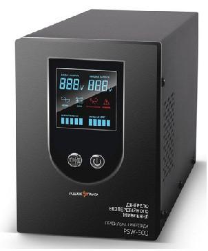 ИБП Logicpower PSW-500 (350Вт) Источник бесперебойного питания с правильной синусоидой для котлов и насосов