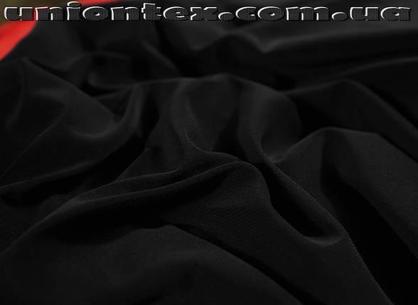 Трикотаж масло (черный), фото 2