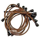 Провода высоковольтные ГАЗ-53 стандарт, медь, улучшенная изоляция (16253)