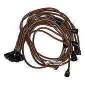 Провода высоковольтные ЗИЛ-130 стандарт, медь, улучшенная изоляция (16230)