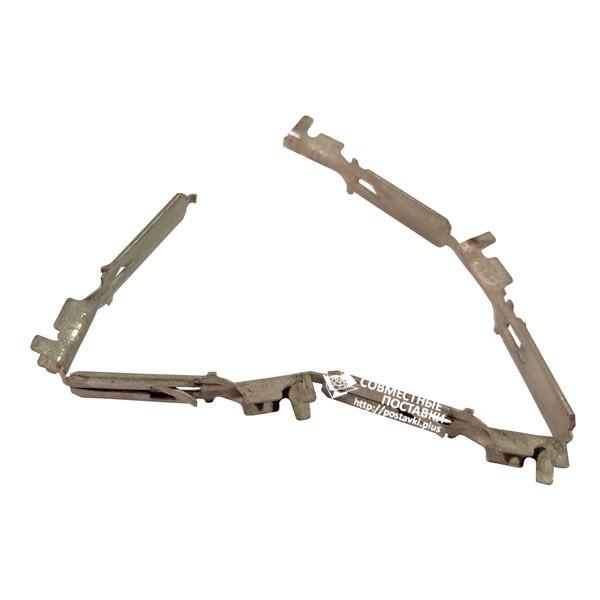 Наконечник клемный 506 стандарт луженый (папа) Зажимает сечение: 0,50-2,50 кв. мм. (34506)
