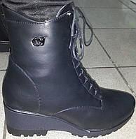 Ботинки женские зимние на танкетке мод № 4-44 ВЕРОН