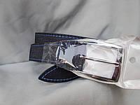 Ремень мужской брючный, джинс, разные цвета, пряжка-шпенек, разных цветов, фото 1