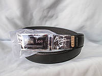 Ремень мужской брючный, пряжка автомат с логотипами брендов, фото 1