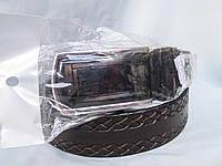 Ремень мужской  из натуральной кожи, пряжка-автомат, разного цвета, фото 1