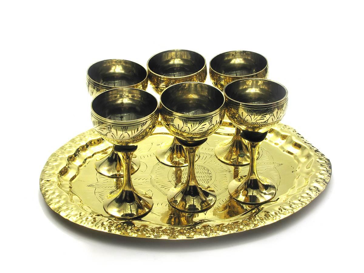 Подарочные рюмки бронзовые