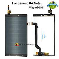 LCD Дисплей+сенсор/модуль Lenovo  A7010 X3 Lite/Vibe K4 Note черный
