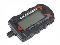 Электронный тахометр цифровой бесконтактный оптический  для измерения скорости винта или вентилятора