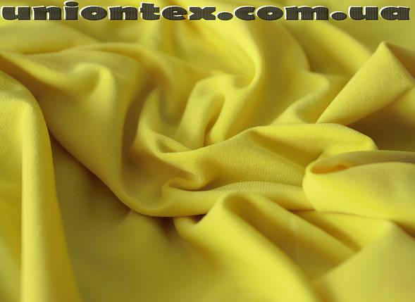 Трикотаж масло (желтый), фото 2