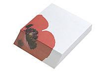"""Папір для нотаток кольоровий LEO 1313 90Х75мм 150арк. """"Мак"""" склеєний"""