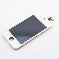 LCD Дисплей+сенсор  iPhone 4S белый ORIG, фото 1