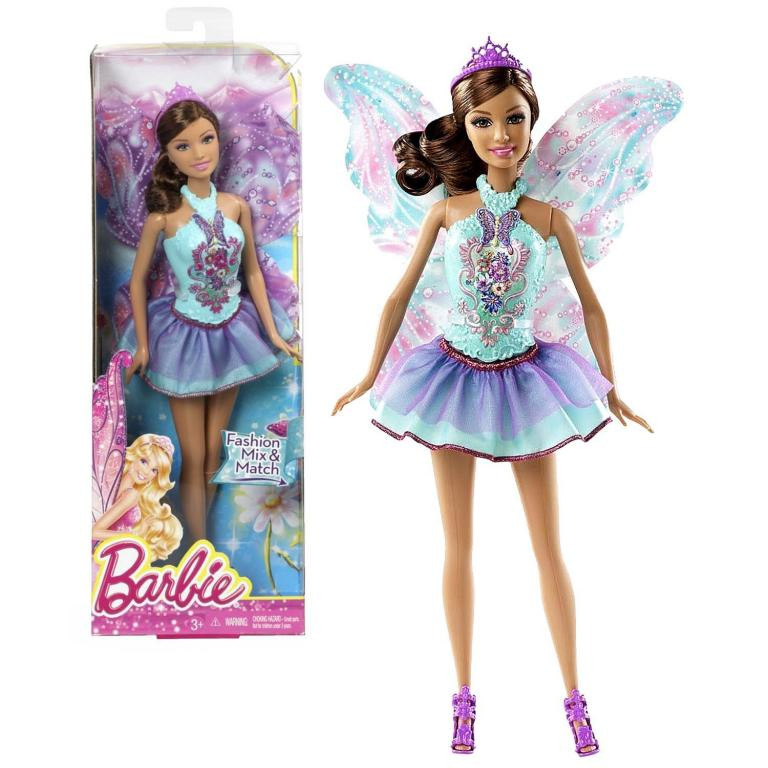 Лялька Барбі Прекрасна Фея в блакитному (Барби Прекрасная Фея, Barbie Beautiful Fairy Fashion Doll, )