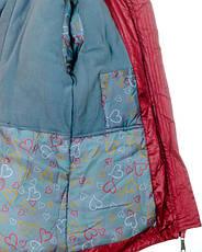 Детская зимняя куртка парка на девочку подростка, р.42,44,46, фото 2