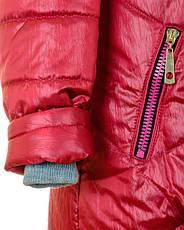 Детская зимняя куртка парка на девочку подростка, р.42,44,46, фото 3