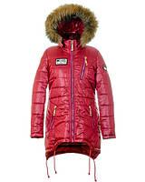 Детская зимняя куртка парка на девочку подростка, р.42,44,46