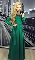 Платье Длинное Спина Вырез Нарядное Вечернее Платье в пол