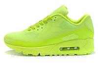 """Кроссовки женские Nike Air Max 90 HYPERFUSE """"Салатовые"""" р. 36, 39,40, фото 1"""