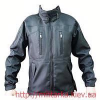Куртка Softshell тактическая black