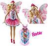 Лялька Барбі Прекрасна Фея в рожевому Барби Прекрасная Фея Barbie Beautiful Fairy Fashion Doll, фото 7