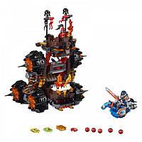 Bela Nexo 10518 Осадная башня Генерала Магмара, 531 деталь, 3 мини-фигурки, механический конь