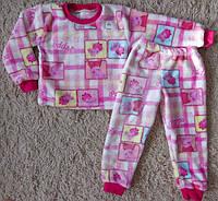 Детская махровая пижама Свинка пеппа
