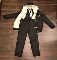 Детский теплый зимний костюм плащевка 86-152, фото 1