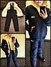 Детский теплый зимний костюм плащевка 122-152