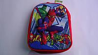 """Детский 3D рюкзак """"Спайдермен"""",330*260*80мм,ТМ Копыця .Плюшевый детский рюкзачок  """"Spider-Men"""" с регулируемыми"""