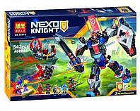 Bela 10519 Nexo Knights Механический робот Черного рыцаря, 543 детали, 4 мини-фигурки