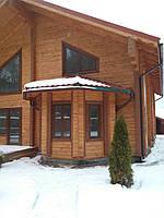 Дом из массивного бруса 180 х 180