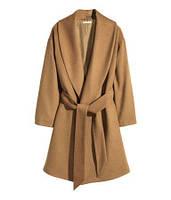Шерстяное пальто H&M в наличии M, фото 1